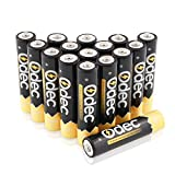 ODEC Pilas Recargables AAA Ni-MH, 1000mAh para Consola de Juegos, Juguetes, Controles Remotos, etc,(16 Unidades)