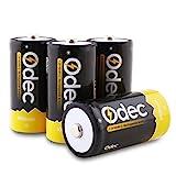 Odec Pilas Recargables C 5000 mAh Ni-MH (4 unidades, 1,2 V)